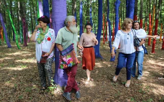 Artistii din Padurea Colorata